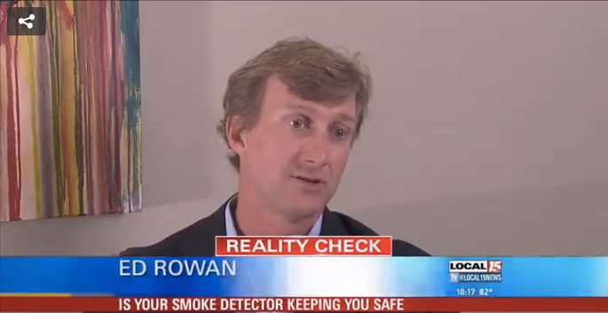 Ed Rowan, Esq. discusses smoke detectors